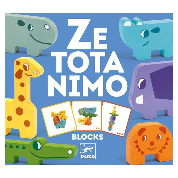 Djeco - Jeu de construction Ze Totanimo