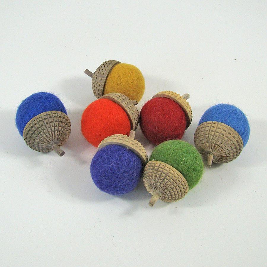 PAPOOSE TOYS - Glands Rainbow - set de 7