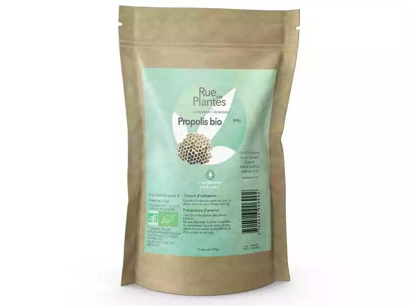 Rue des Plantes - Propolis bio extrait poudre 100g