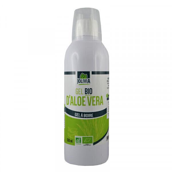 Jolivia - Pur gel d'Aloe Vera Bio à boire - 500 ml