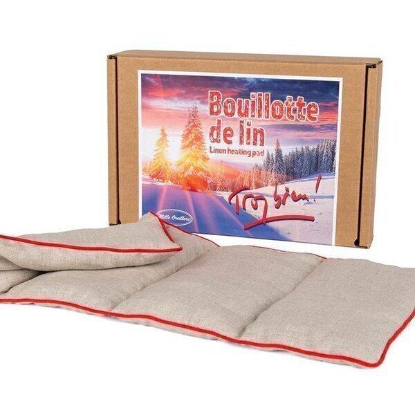 Mille oreillers - Bouillotte de lin® Trop Bien réconfortante