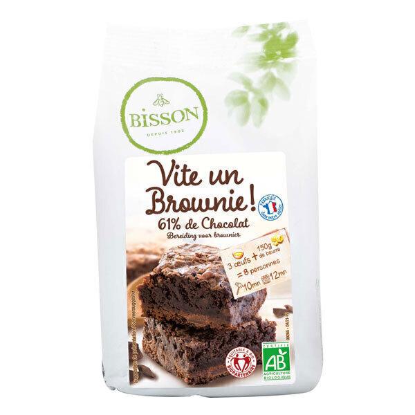 Bisson - Préparation pour brownie 350g