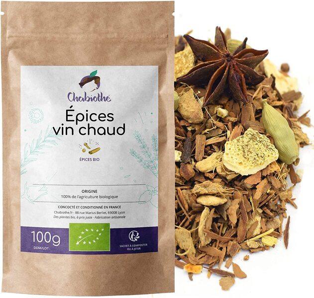 Chabiothé - Thé vert Fruits des Bois Bio 200g
