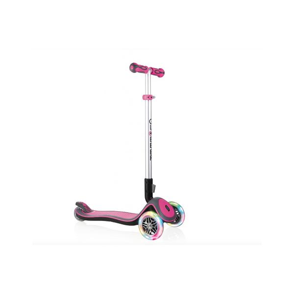 Globber - Trottinette  Elite Deluxe Lights Deep Pink