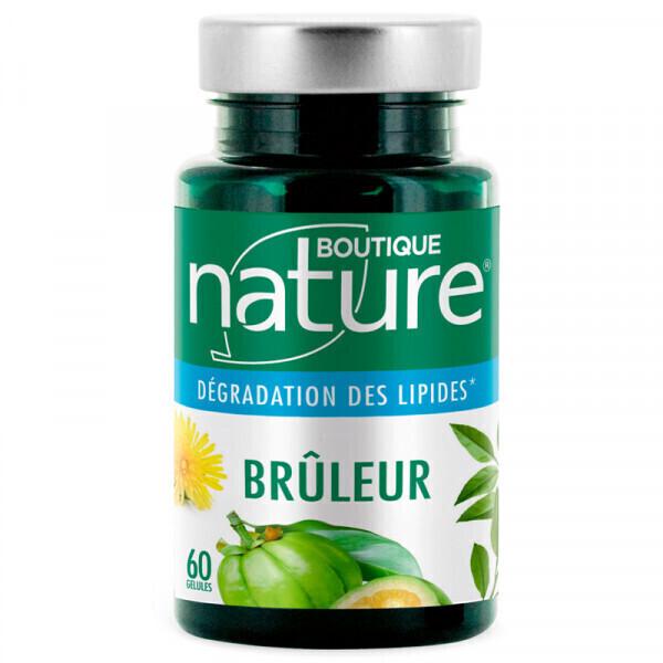 Boutique Nature - Brûleur gélules végétales