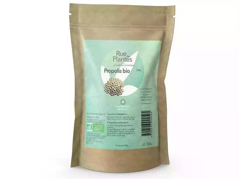 Rue des Plantes - Propolis bio extrait poudre 500g
