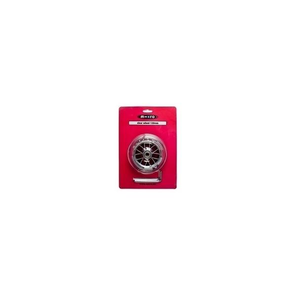 Micro - Piece detachee Trottinette Roue Transparente 120mm Sprite