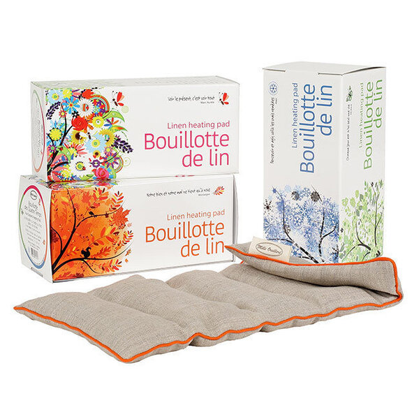 Mille oreillers - Bouillotte des Quatre Temps en lin naturel