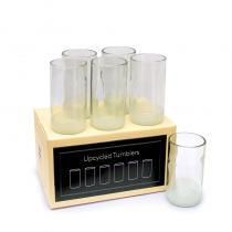 IWAS - Grands verres à boire upcyclés (recyclés)