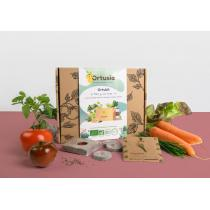 Ortusia - Kit potager « Allez je me Lance ! » 5 variétés de graines bio