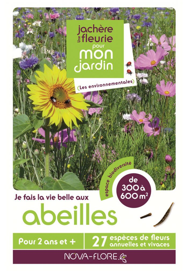 Novaflore - Prairies fleuries : Jachère abeilles 300 à 600 m2