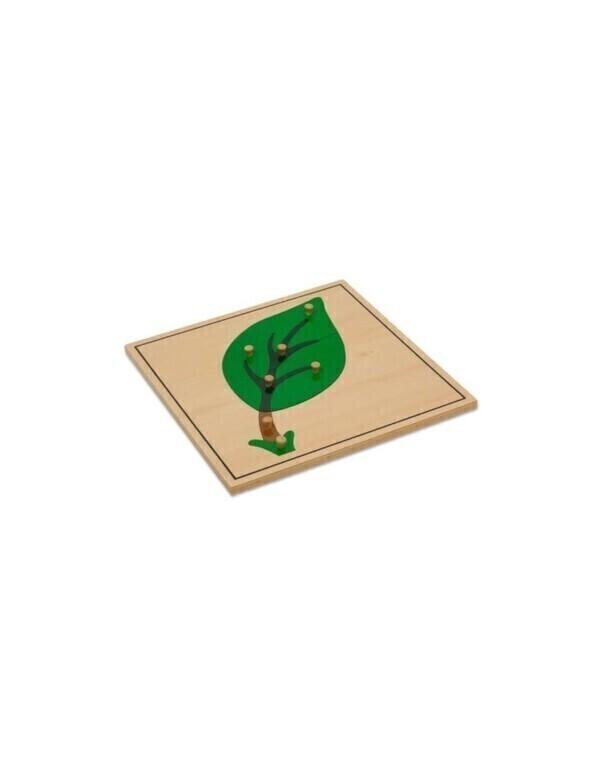 MontessoriSamuserAutrement - Puzzle de la feuille