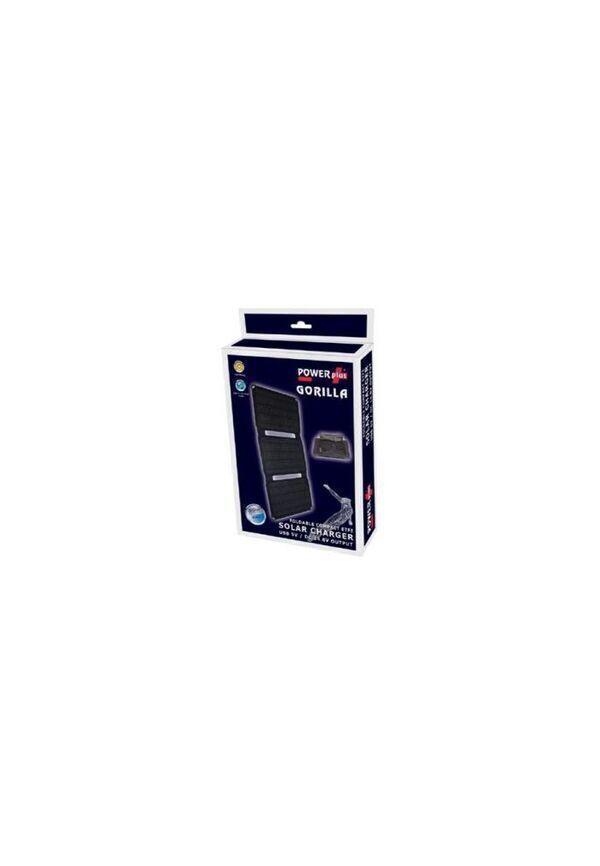 Eqwergy - GORILLA / PANNEAU SOLAIRE 20 W - CHARGEUR USB 5V ET DC 14.8V