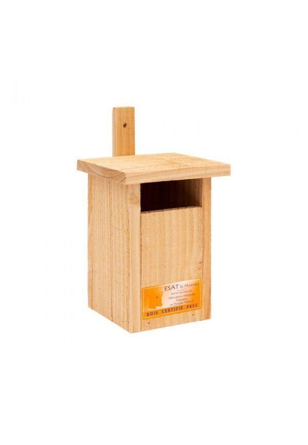 Atelier du Morvan - Nichoir semi-ouvert en bois