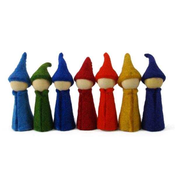 PAPOOSE TOYS - Gnomes Rainbow - set de 7