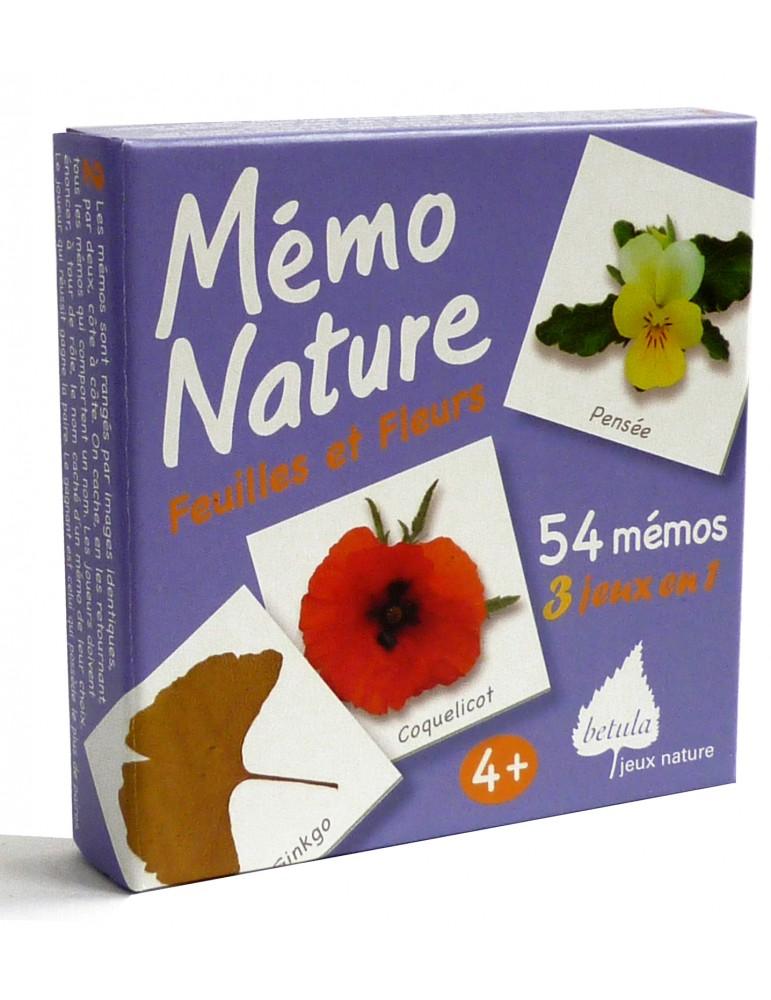 Betula - Mémo nature feuilles et fleurs