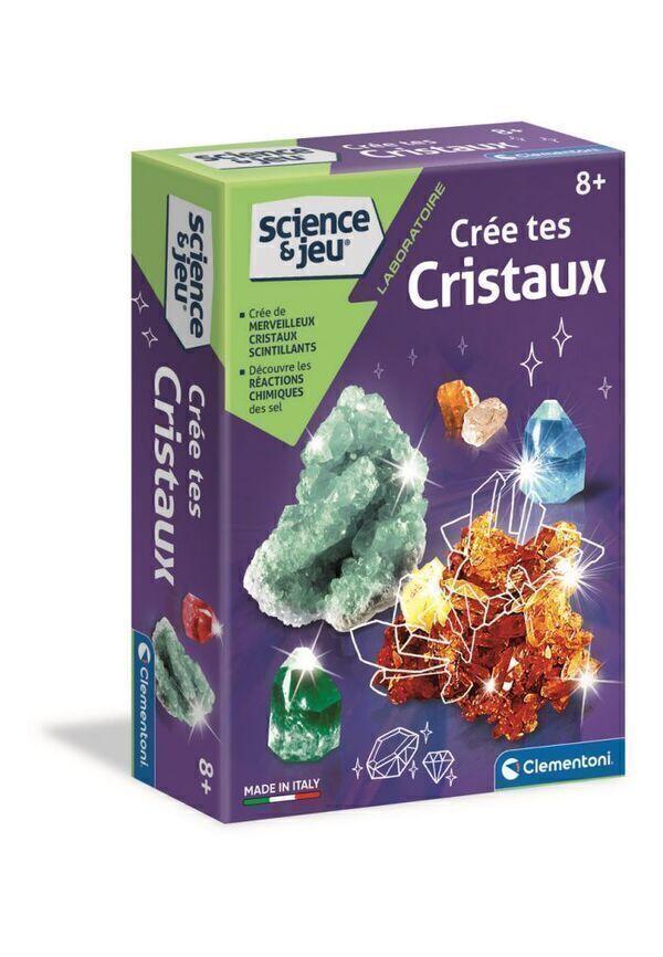 clementoni - Crée tes cristaux