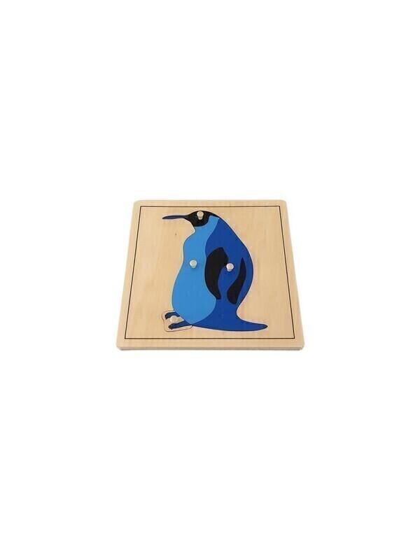 MontessoriSamuserAutrement - Puzzle Pingouin