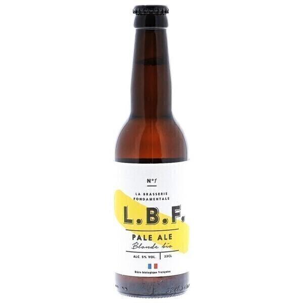 L.B.F. La Brasserie Fondamentale - LBF PALE ALE 33CL - CERTIFIE FR-BIO-01