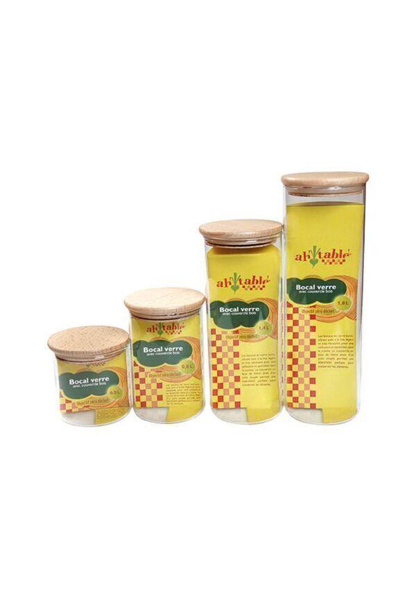 Ecodis - Bocal couvercle liège 0.5 L