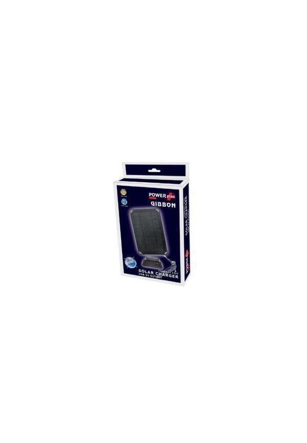 Eqwergy - GIBBON / PANNEAU SOLAIRE 5W - CHARGEUR USB 5V