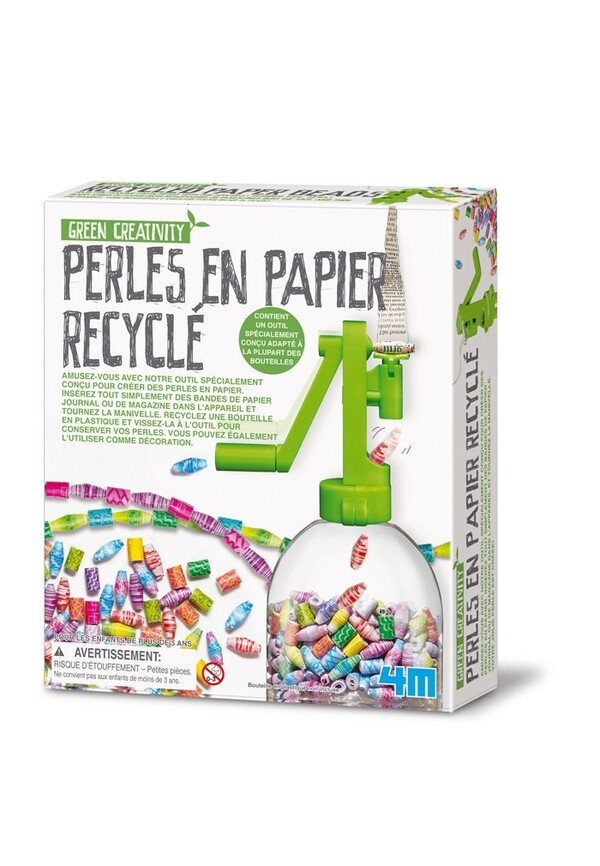 Dam - Kit créatif perles en papier recyclé