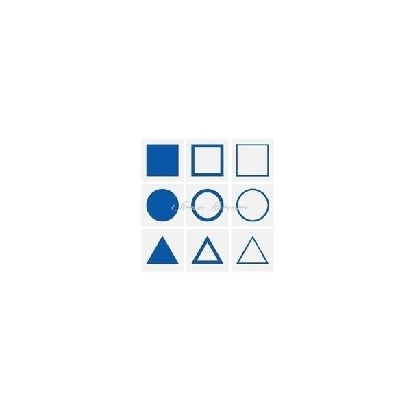 MontessoriSamuserAutrement - Cartes formes géométriques