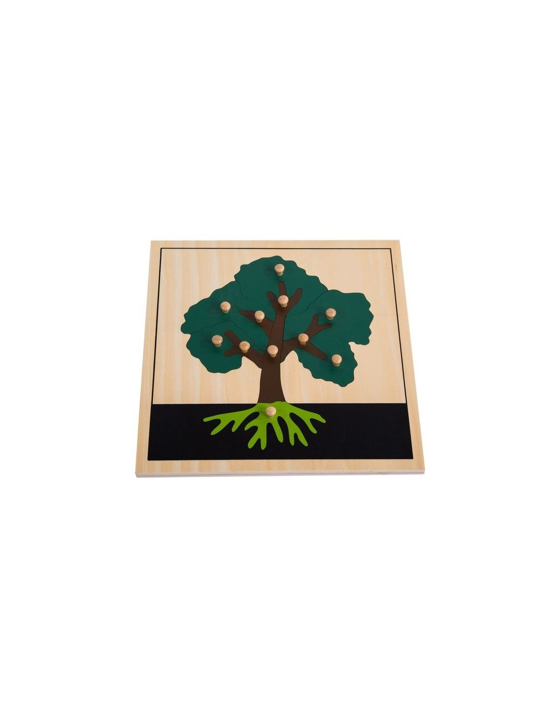 MontessoriSamuserAutrement - Puzzle de l'arbre