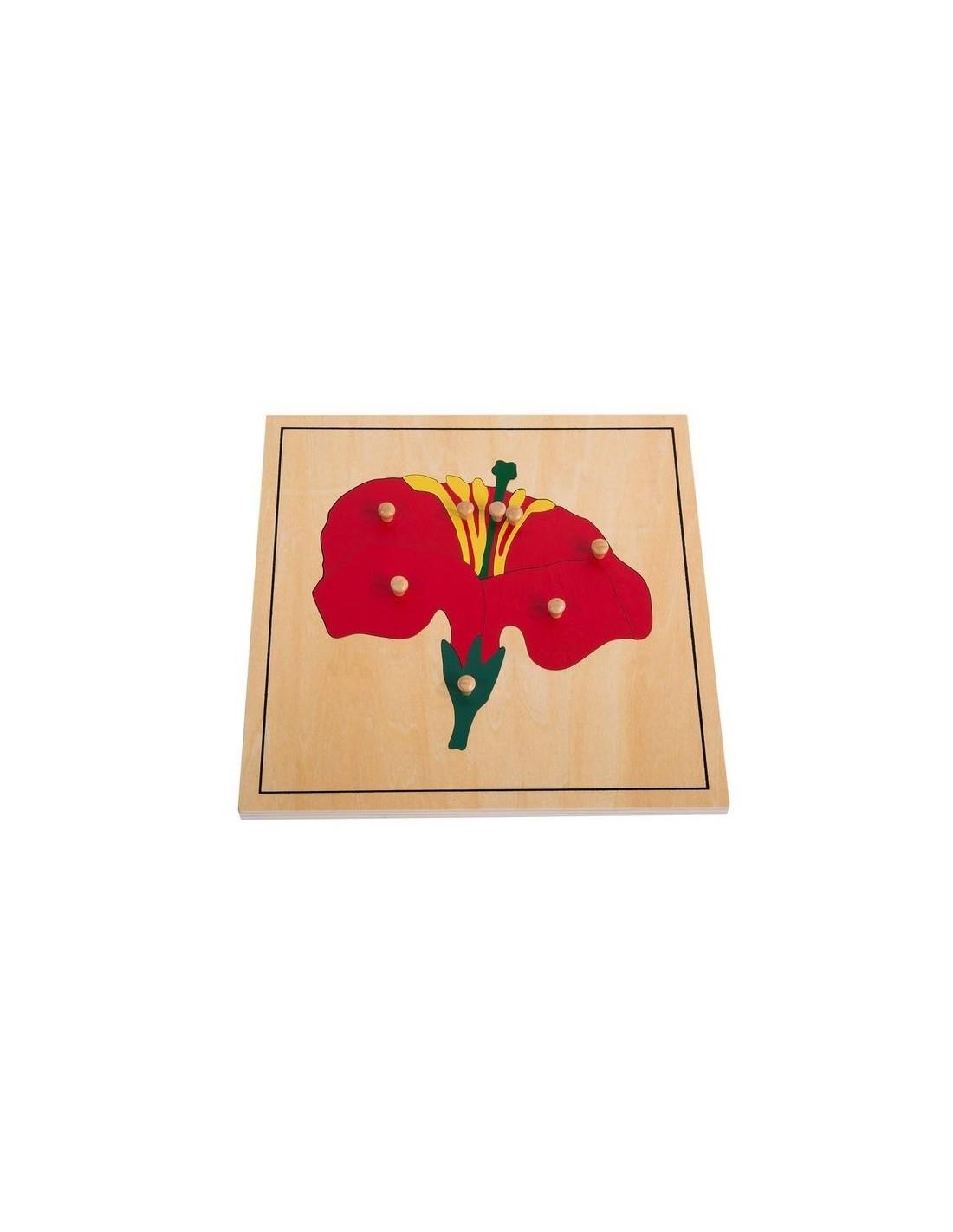 MontessoriSamuserAutrement - Puzzle de la fleur