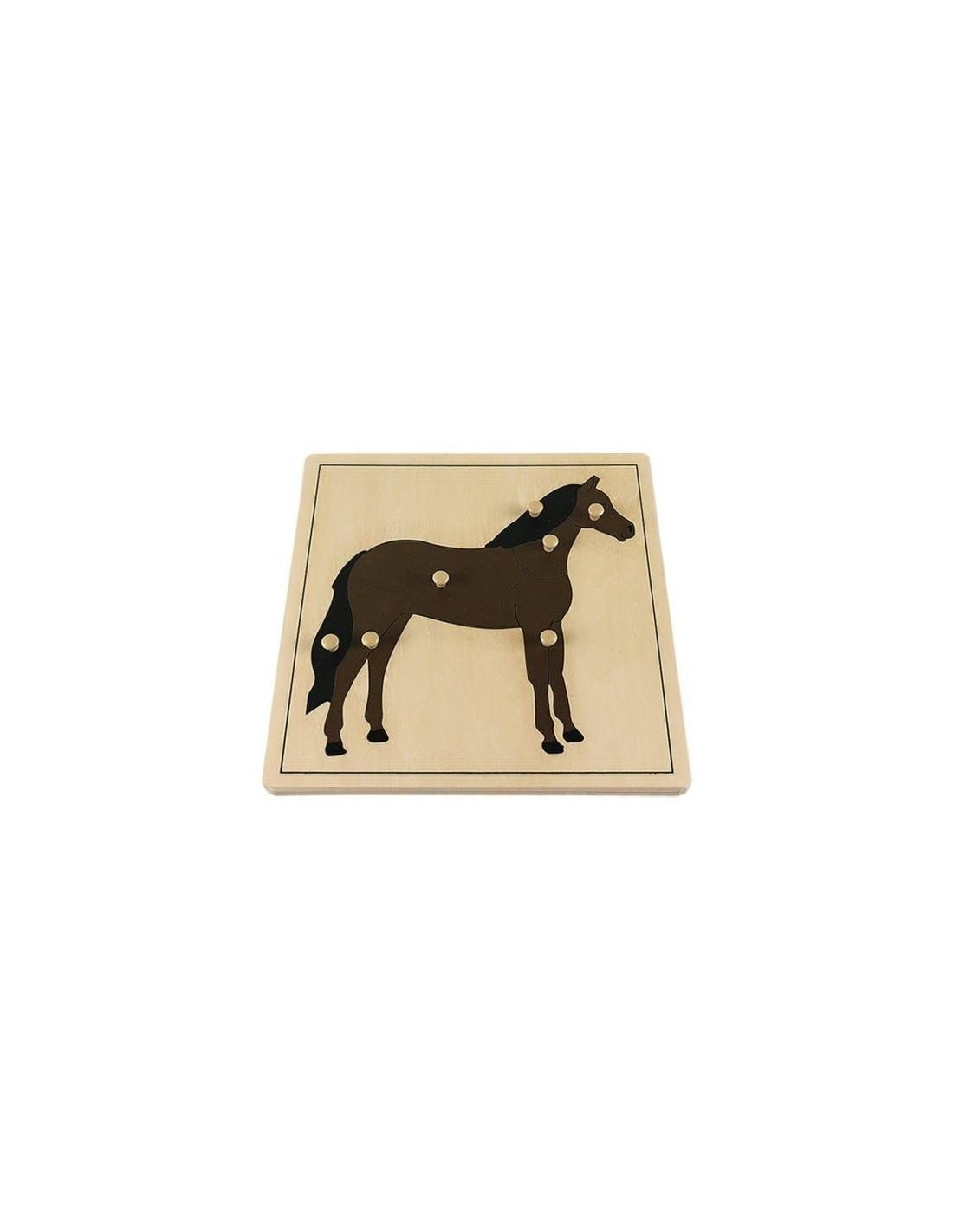 MontessoriSamuserAutrement - Puzzle Cheval