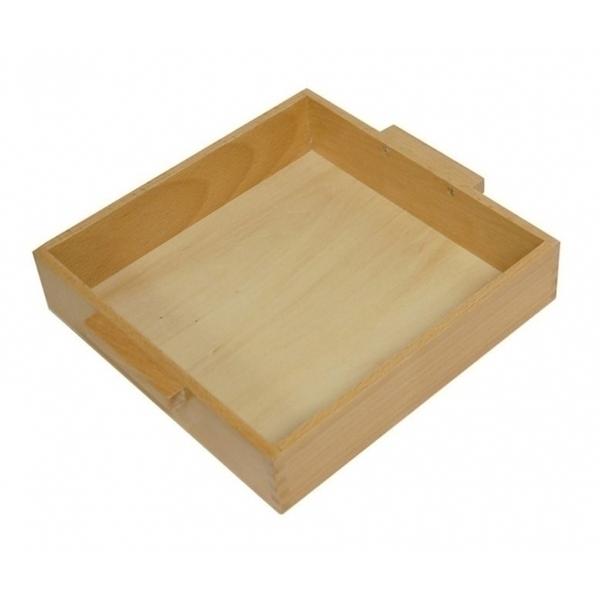 MontessoriSamuserAutrement - Plateau pour 9 cubes de 1000 en bois