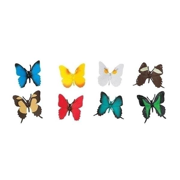 Safari - 8 Figurines Papillons