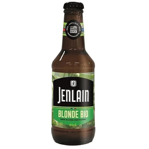 JEANLAIN - JENLAIN BLONDE 25CL CERTIFIE FR-BIO-01