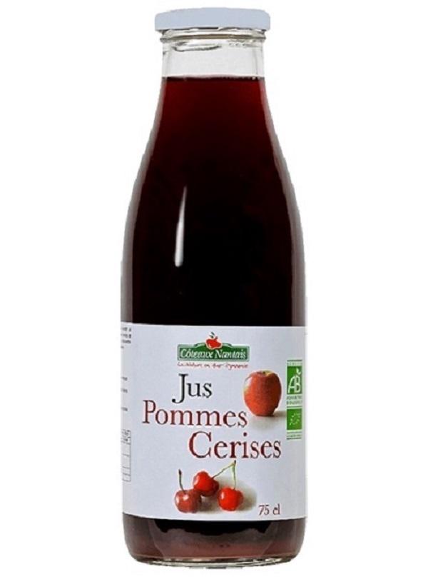 Côteaux Nantais - Jus pommes cerises Bio - 75 cL