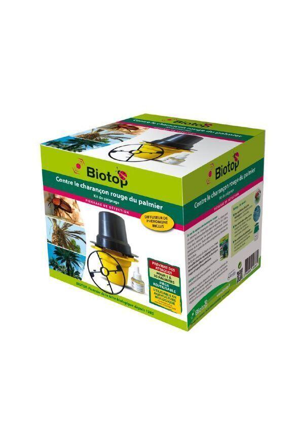 Biotop - Kit de piégeage Rhynchotrak : charançon rouge du palmier