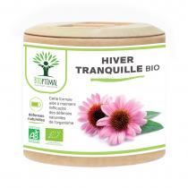 Bioptimal - Echinacée - Eucalyptus - Curcuma Bio - Plantain Bio - 60 gélules