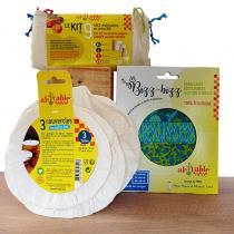 Nos Mondes Alternatifs - Lot Emballages réutilisables et Sacs à Vrac Zéro Déchet