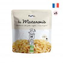 Popote - Les Macaronis - Lot de 5 - dès 12 mois