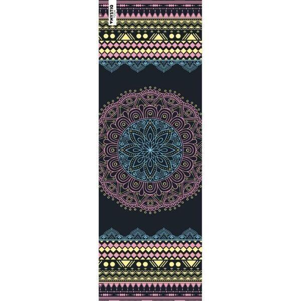 Mystiq Yoga - TRAVEL Series - Tapis de Yoga de Voyage Mandalife Colors