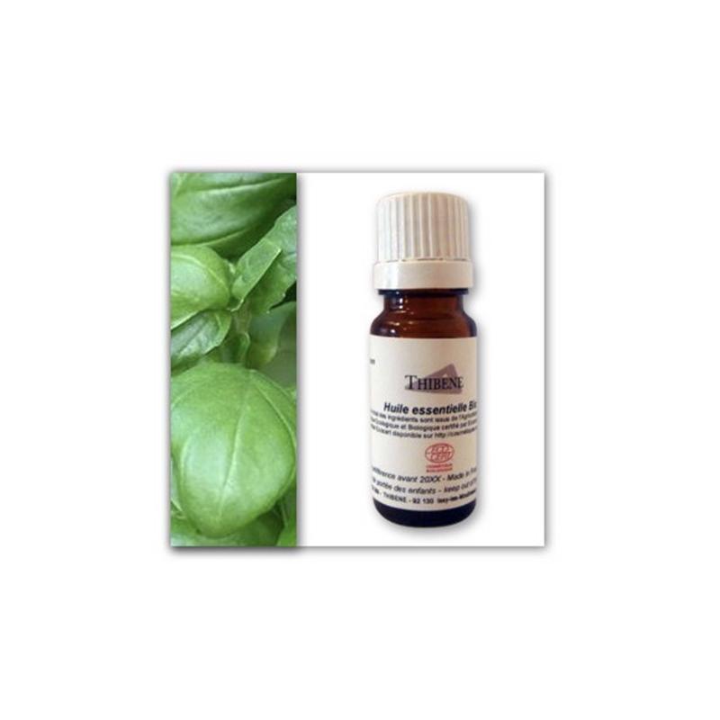 Thibêne - Huile Essentielle de Basilic Bio 10 Ml