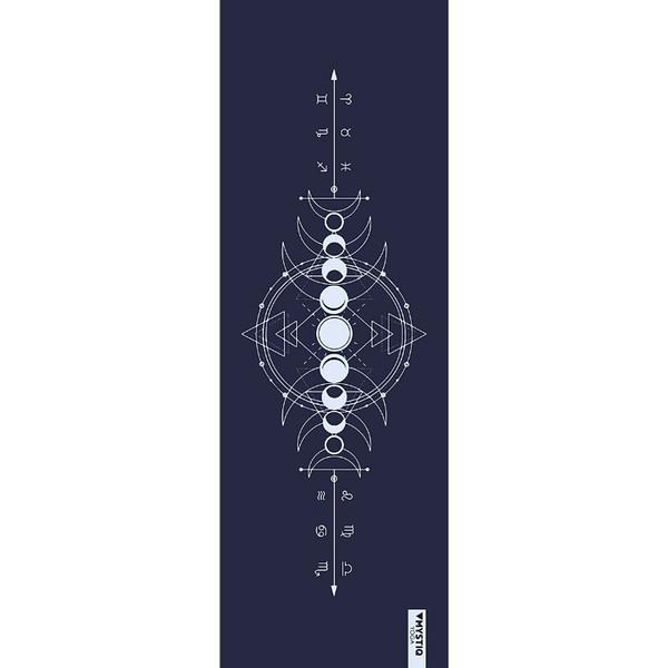 Mystiq Yoga - TRAVEL Series - Tapis de Yoga de Voyage Astro Mystiq