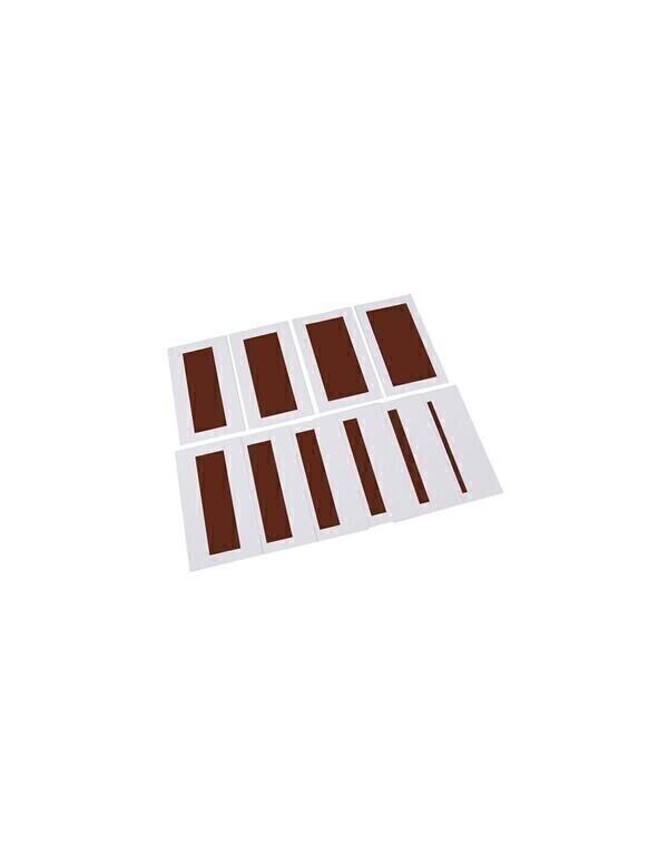 MontessoriSamuserAutrement - Cartes pour l'escalier marron