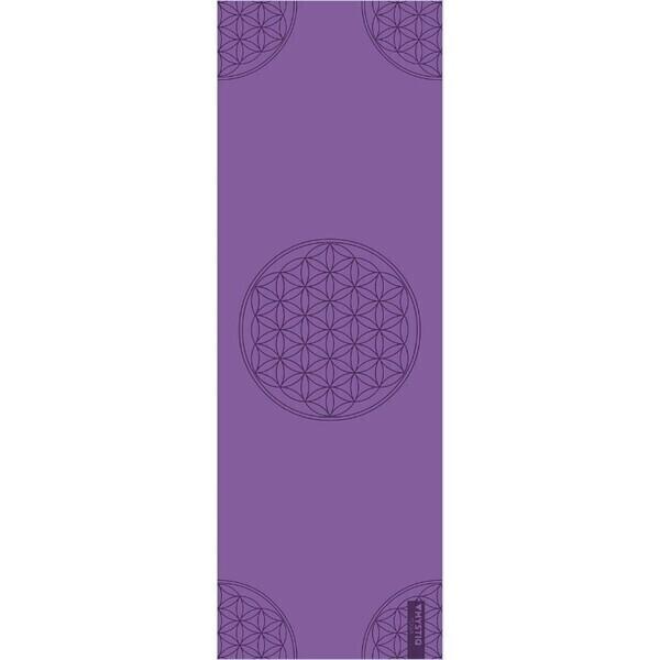 Mystiq Yoga - START Series - Tapis de Yoga Flower of Life Purple