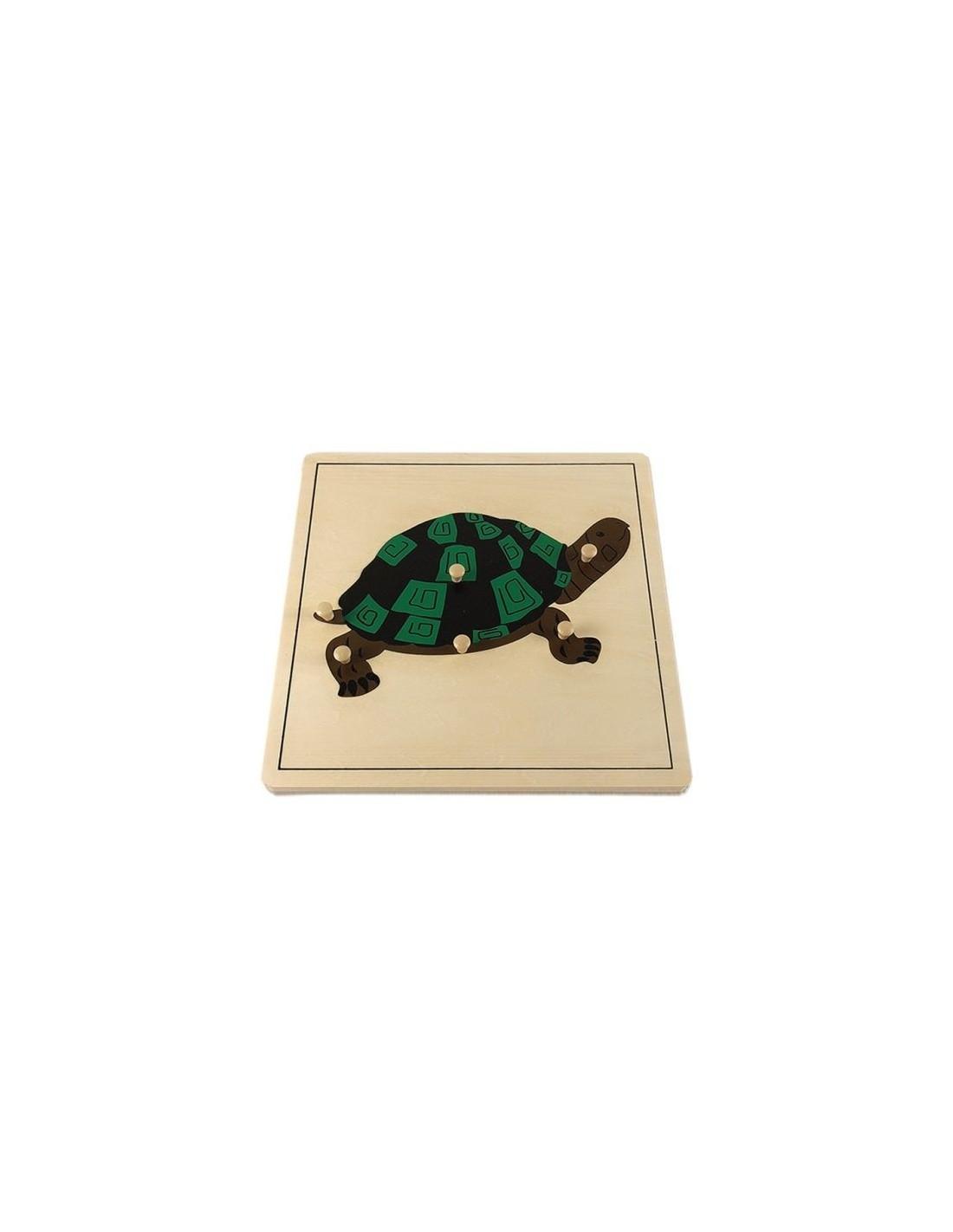 MontessoriSamuserAutrement - Puzzle Tortue