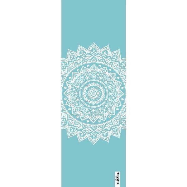 Mystiq Yoga - PRO ORIGINAL Series - Tapis de Yoga Mandalife Blue