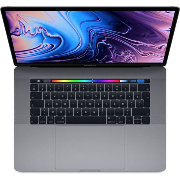 """Apple - MacBook Pro 15"""" Touch Bar 2018 Gris - Comme neuf"""