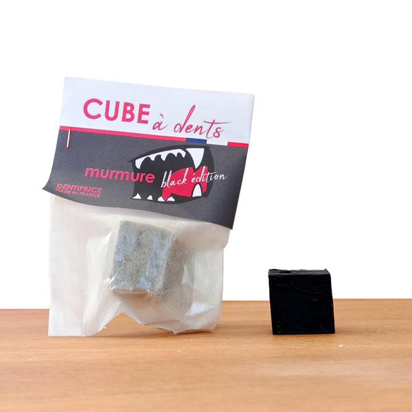 Rive Droite, LA SAVONNERIE - Dentifrice Solide Charbon 3 Mois d'Utilisation Black Edition