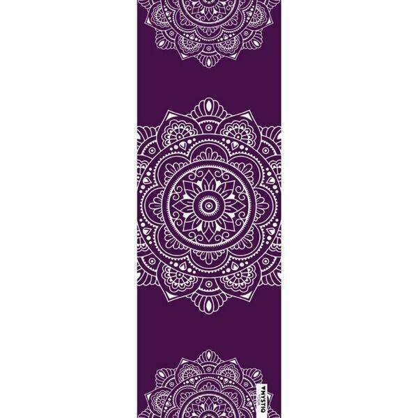 Mystiq Yoga - TRAVEL Series -Tapis de Yoga de Voyage Mandalign Purple