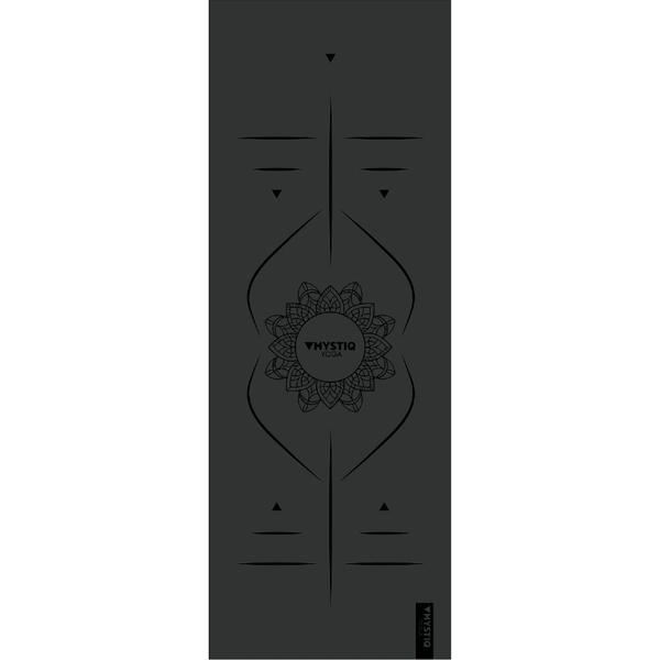 Mystiq Yoga - ELITE Series - Tapis de Yoga Mandalign Black
