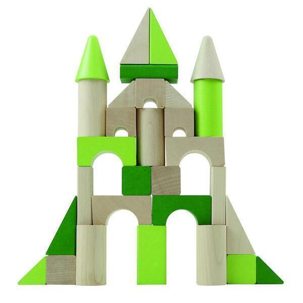 Detoa - Jeu de construction Château de 45 pièces en bois